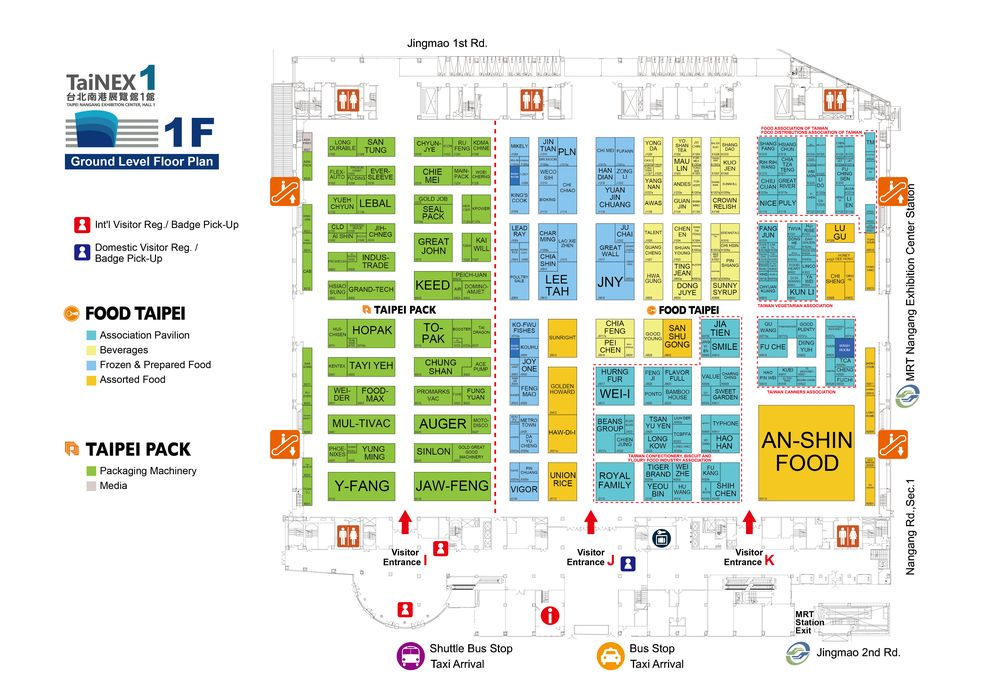 Taipei International Food Show-2019 5-in-1 Show Map on show a home, show a volcano, usa map, show a poster, show a paper, show a monarch butterfly, show map of africa, show map of mississippi, show a ruler, show a email, show a book, show a world globe, show a chart, show a car, show a scale, show map of florida, show a finite set, show map of mexico, show a compass, show a calendar,
